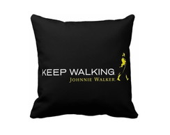 Capa De Almofada Keep Walking - 40x40