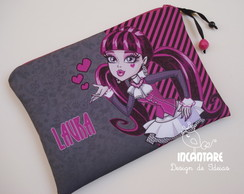 "Necessaire Personalizada ""Monster High"""
