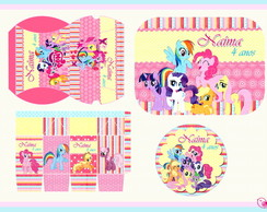 Kit De Arte Digital - Poney