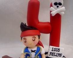 Vela personalizada c/ mini personagem