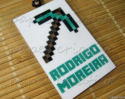 Kit 3 Bagtags - PICARETA MINECRAFT