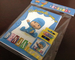 Mini Kit Colorir - Pocoyo