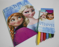 Kit de Colorir Personalizado Frozen