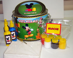 "Kit Artista 3 ""Casa do Mickey"""