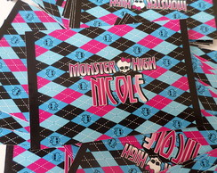 Adesivos Bisnaga monster high