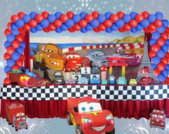 Mesa decorada Carros2