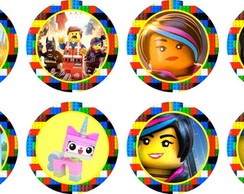 Lego Movie 15 adesivos