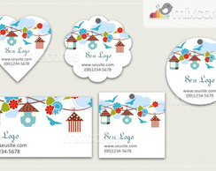 Kit Tags - Etiquetas Com Design Mod101