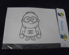 kit colorir do minions