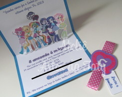 Convite pop up equestria girl