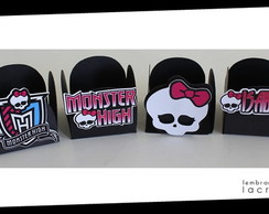 Forminhas Monster High-Personaliz.20unid
