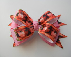 Laço Hair Bow Enrolados