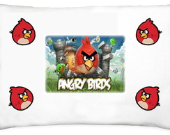 Fronha Personalizada Angry Birds