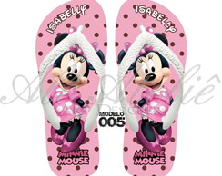 Chinelo Minnie Personalizado Havaianas Top Original