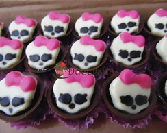 Copinho de chocolate Monster High