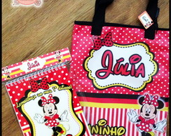 Kit Para Colorir e Sacola - Minnie