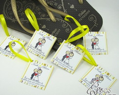 Vale Chinelo Personalizado 5x5cm