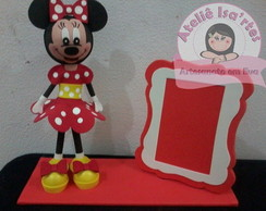 Porta retrato Minnie 3D