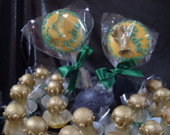 Pirulitos de chocolate da Copa