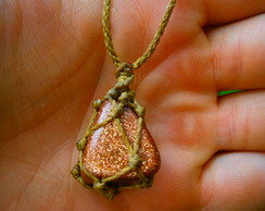 Colar GoldStone (Pedra do Sol) EXTRA