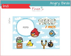 Foto Ímã Digital Angry Birds