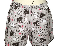 Shorts Doll (I Love Cats) G ou GG