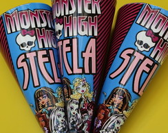 Cones para doces Monster High.