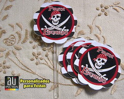 Toppers - Tags Pirata