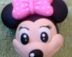 Chaveiro da Minnie e Mickey