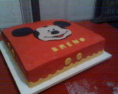 Bolo Decorado do Mickey