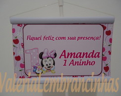Mini Banner De Mesa Minnie Baby