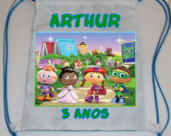Mochilinha Super Why