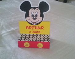 Porta Chocolate Duplo Mickey