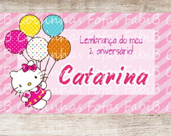Tag agradecimento Hello Kitty