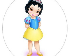 Botton princesas (Branca de Neve)