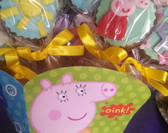Pirulitos De Chocolate Peppa Pig