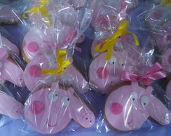 Biscoitos Decorados Peppa Pig