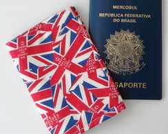 CAPA DE PASSAPORTE LONDON