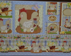 ***Papel Decoupage Galinhas PD-633