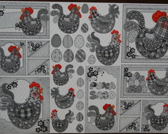 ***Papel Decoupage Galinhas PD-800