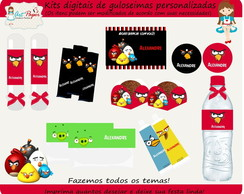 Kit de guloseimas Angry Birds digital