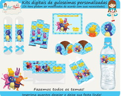 Kit de guloseimas Backyardigans digital