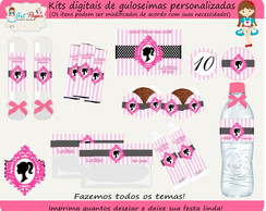 Kit de guloseimas Barbie digital