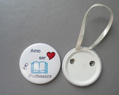 Botton professora PR2006L com lacinho.