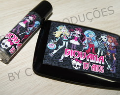 Kit Maquiagem Personalizada Monster High