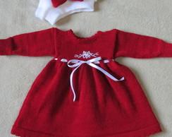 ... Vestido de lã Para Bebê RN 7d2cc874e09
