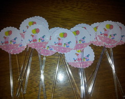 Toppers Para doces ou Cupcakes Peppa Pig
