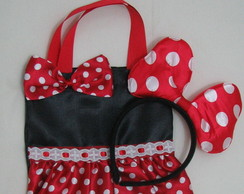 Bolsinhas Mickey e Minnie