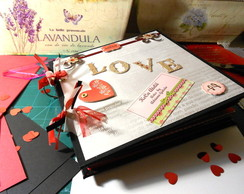 Álbum scrapbook LOVE