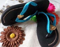 SANDÁLIA HAVAIANA TOP DECORADAS